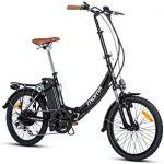Las Mejores Bicicletas plegables electricas el corte ingles