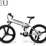 Las Mejores Bicicletas plegables Bicicleta eléctrica doble suspensión