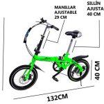 Las Mejores Bicicletas plegables urbanas