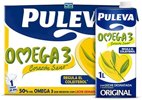 Mejores Leche omega 3