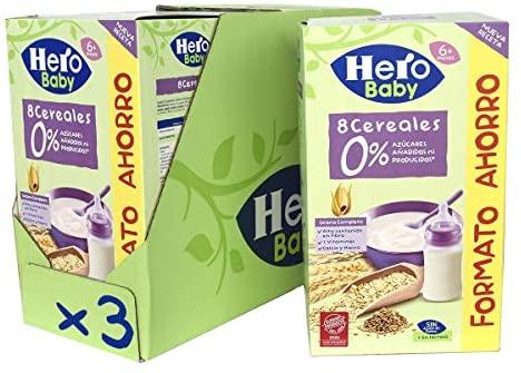 Cereales 0 azucares añadidos